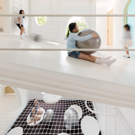 Jerry House by Onion is built<br /> around an indoor playground