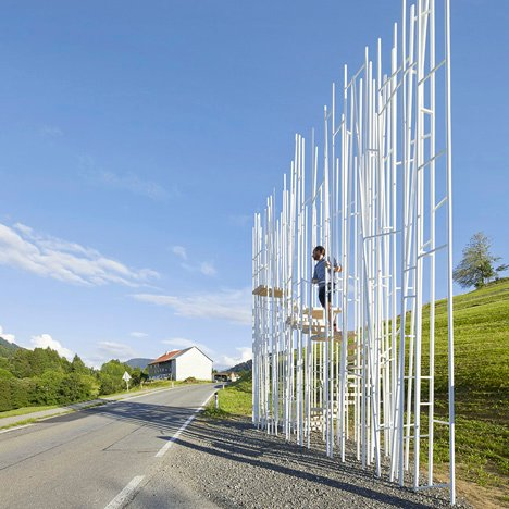 "Sou Fujimoto bus shelter closed to prevent ""possible accidents"""