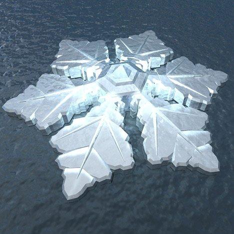Snowflake-shaped hotel to float off the coast of Norway