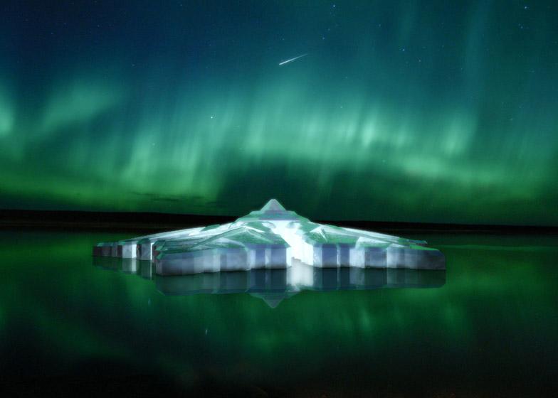Krystall Snowflake Hotel by Waterstudio