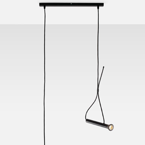 Quentin de Coster's Lasso light is shaped like a torch