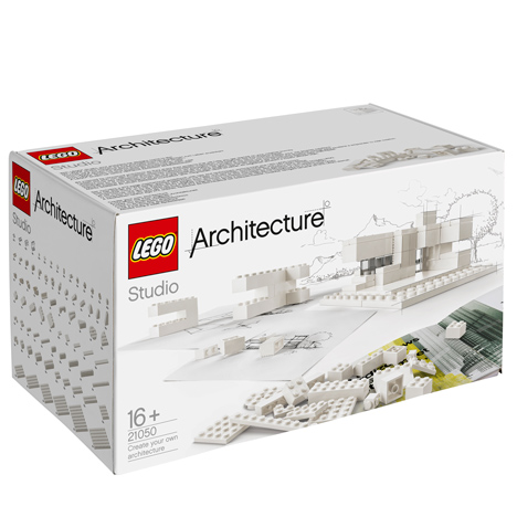 Lego targets architects with<br /> monochrome building set