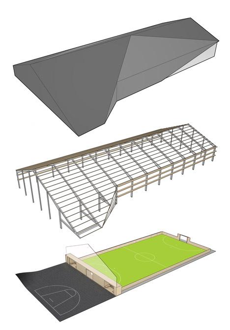 Løgstør sports hall by CEBRA