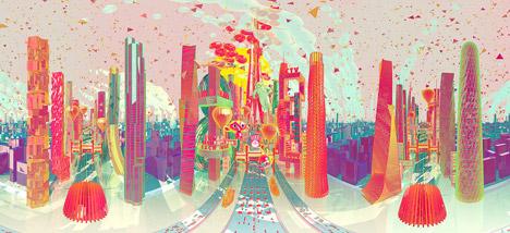 Lunar economic zone by Zhan Wang