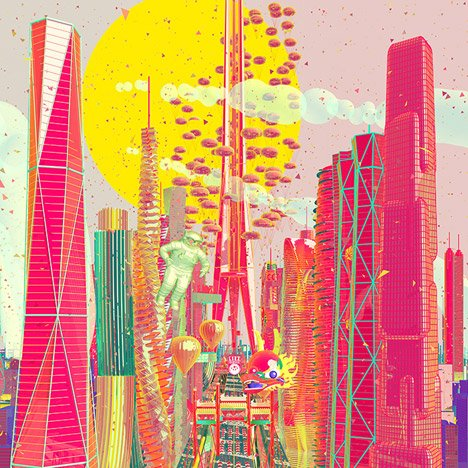Zhan Wang's animation imagines China as a trade leader in extra-terrestrial minerals