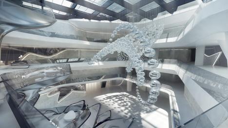 ME Dubai Atrium Podium
