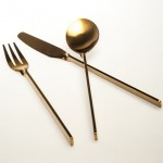 Miguel Flores Soeiro twists metal to form Malmö cutlery