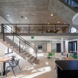 OV-A adds concrete interior to Slavonice community centre