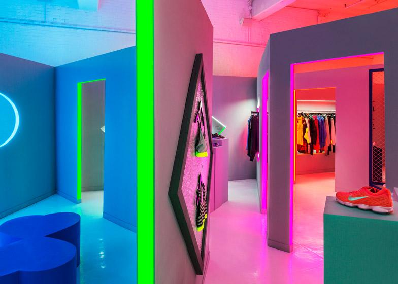 Nike pop-up by Storey Studio