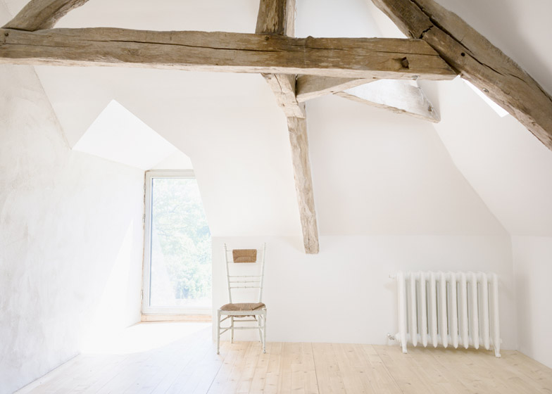 Old farmhouse conversion in France by SEPTEMBRE