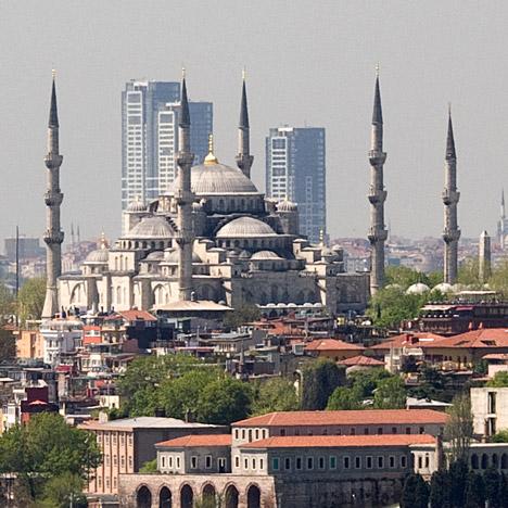Onalti Dokuz skyscrapers in Istanbul, Turkey