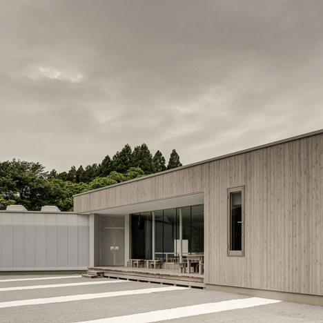 Timber community centre by Van Der Architects<br /> built in earthquake-hit Japanese town
