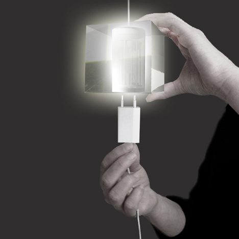 Plug Light by Joyce de Grauw and Paul van den Berg