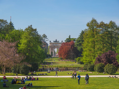 Parco Sempione – image courtesy of Shutterstock