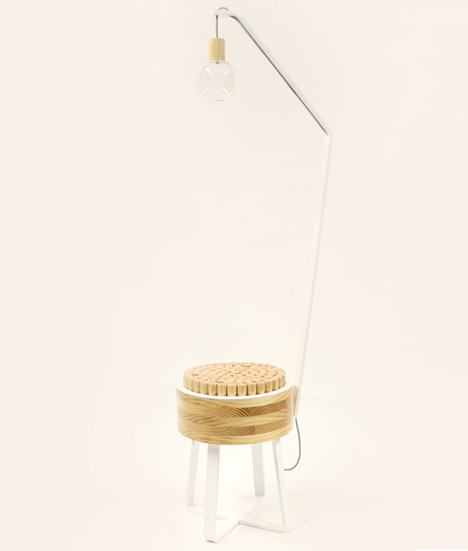 Pascal Stool by Holly Bradshaw
