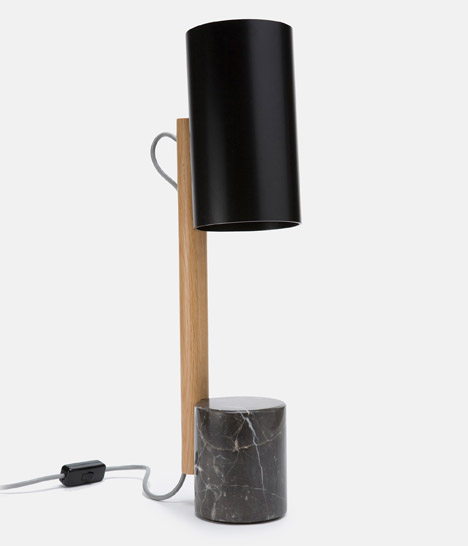 Quart lamp by Rich Brilliant Willing