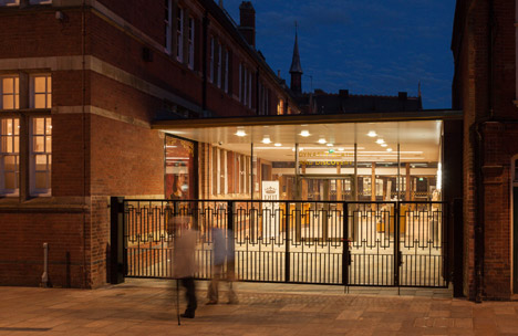 Richard III Visitor Centre by Maber Architects