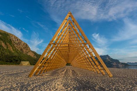 SALT wooden structures by Sami Rintala