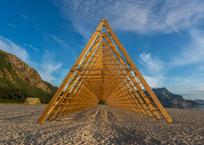SALT wooden structures by Sami Rintala