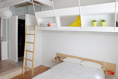 Barcelona Apartment Designed For Shared Micro Living