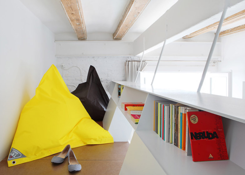 """Miel Arquitectos and Studio P10 design Barcelona apartment for """"shared micro living"""""""