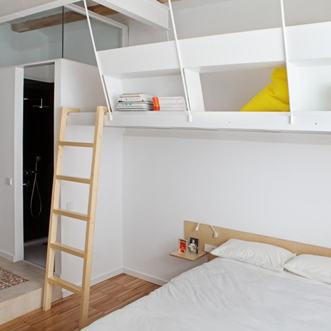 "Miel Arquitectos and Studio P10 design Barcelona apartment for ""shared micro living"""