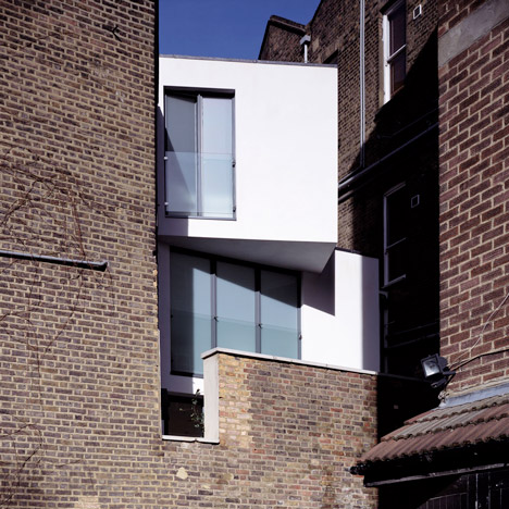 Sliver House by Boyarsky Murphy Architects slots into a three-metre-wide space