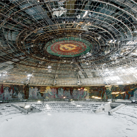 Abandoned Soviet architecture photographed<br /> by Rebecca Litchfield