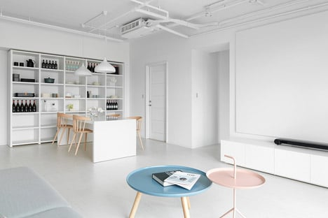 Taipei interior by Tai and Architectural Design