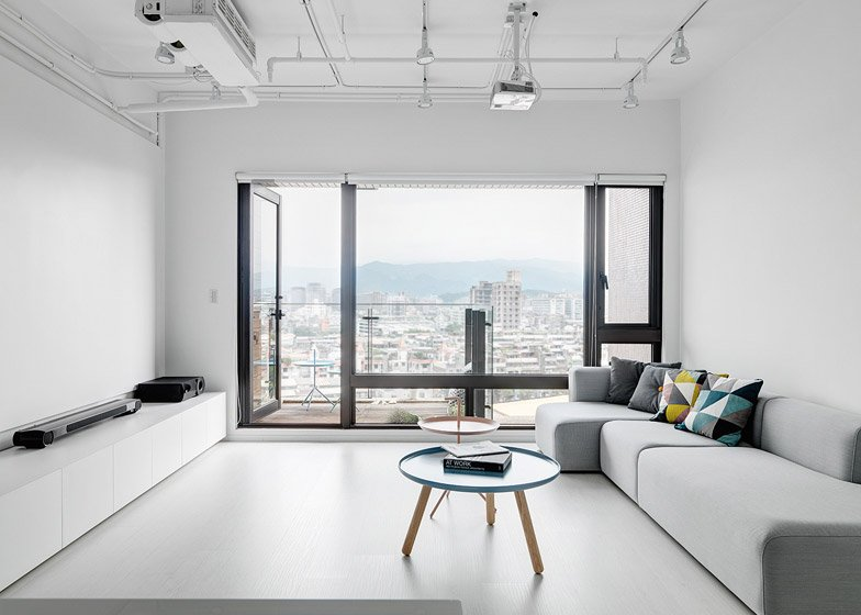Tai & architectural design keep it simple for taipei apartment