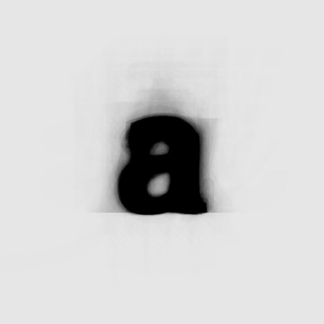 The Average Font combines hundreds&ltbr /&gt of characters into a single typeface