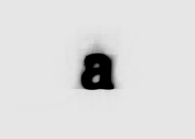 The Average Font combines hundreds of characters into a single typeface