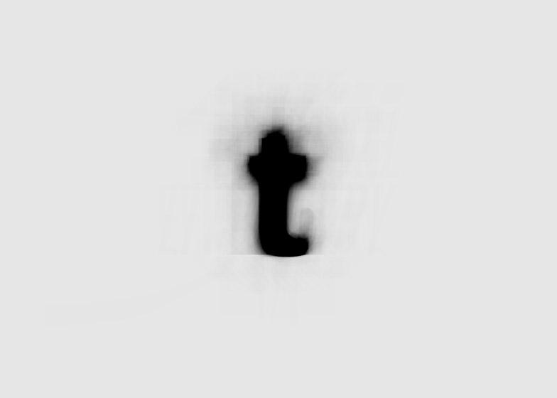 The Average Font by Moritz Resl
