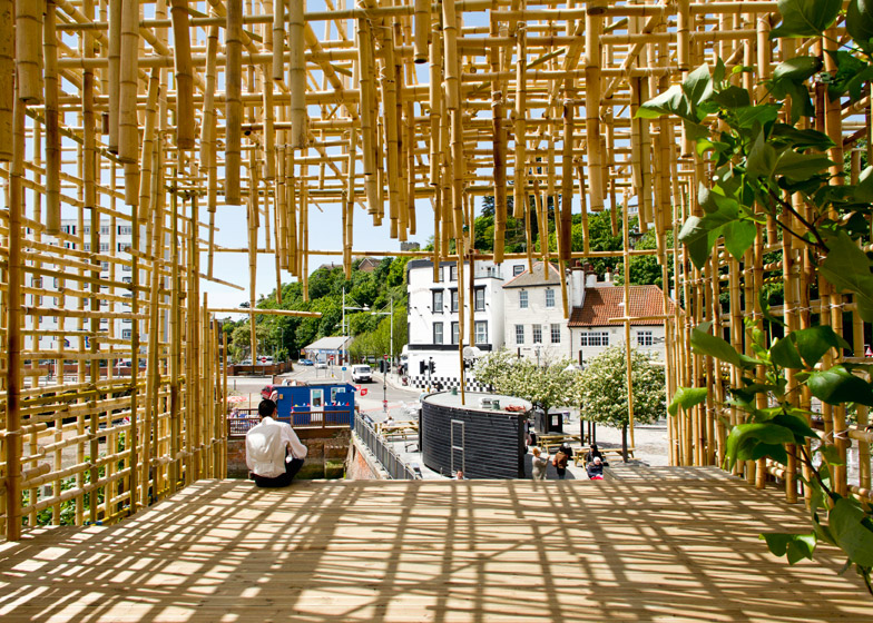 The Electrified Line by Gabriel Lester for the 2014 Folkestone Triennial