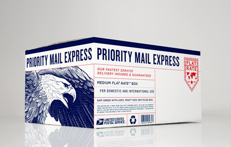 US postal service redesign by Grand Army