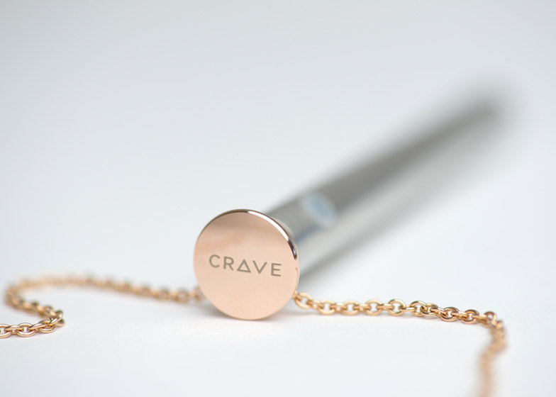 Vesper vibrator necklace by Crave