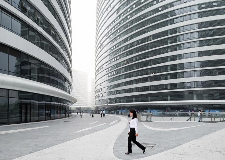 Wangjing Soho by Zaha Hadid