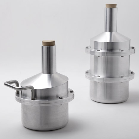 Drilling Lab stacks aluminium tubes to form vessels in Water Pipe Series