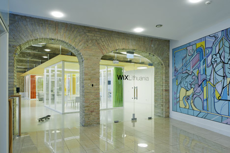 Wix offices by Inblum