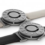 The Bradley tactile timepiece available intwo new colours at Dezeen Watch Store