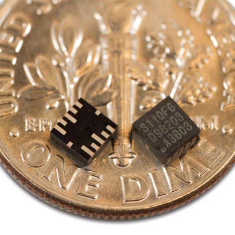 mCube tiny motion sensors