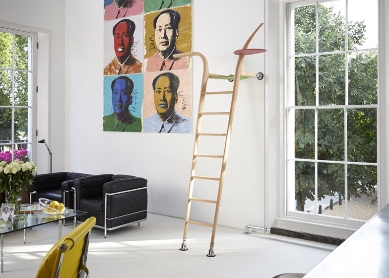 Ladder by Xenia Moseley for Richard and Ab Rogers