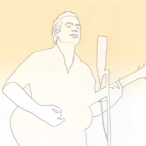 Stefan G Bucher animates Wesley Stace in his music video for Goodbye Jane