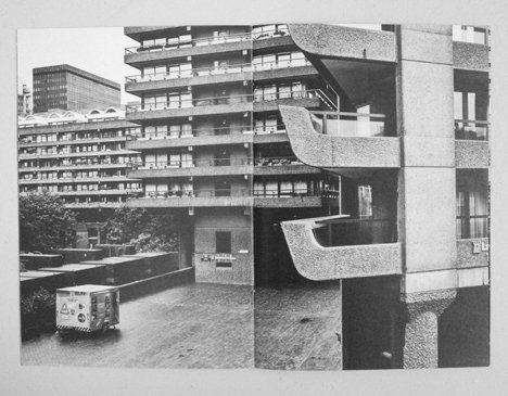 The Barbican Estate, London, by Chamberlin, Powell and Bon