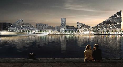 Aarhus harbour by BIG