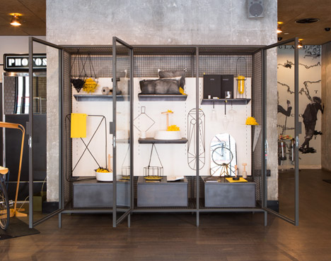 Ace Hotel installation by Fabrica