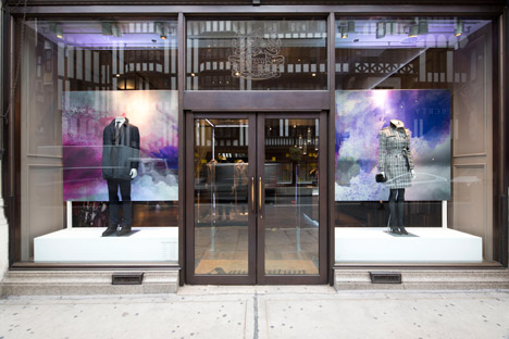 Aquascutum for RIBA Windows Project 2014