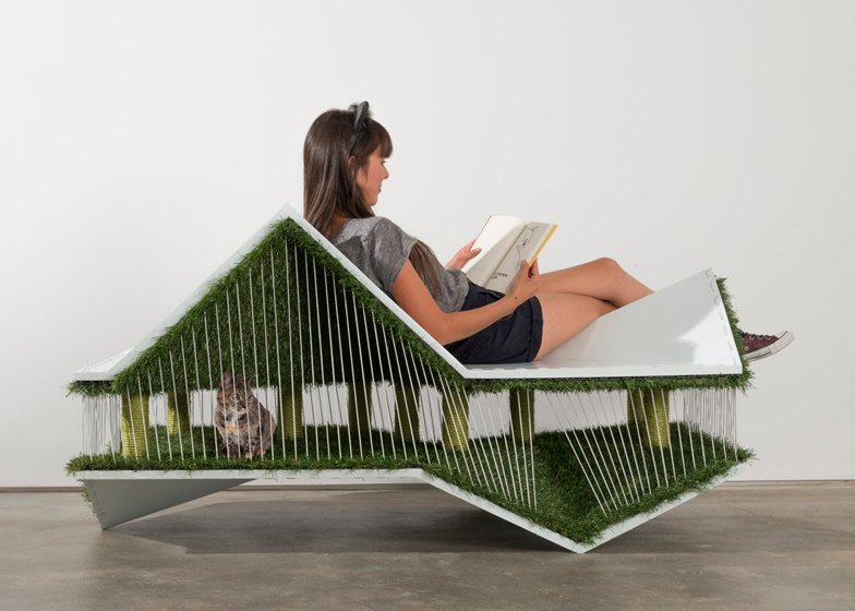 Architects for Animals cat house by Space Int'l