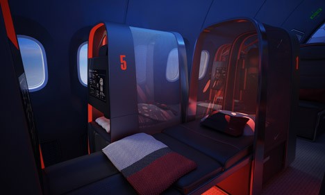 Athlete's plane by Teague for Nike