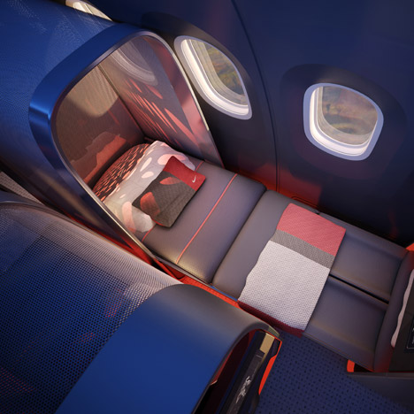"Athlete's Plane by Teague and Nike would be a ""training room in the sky"""